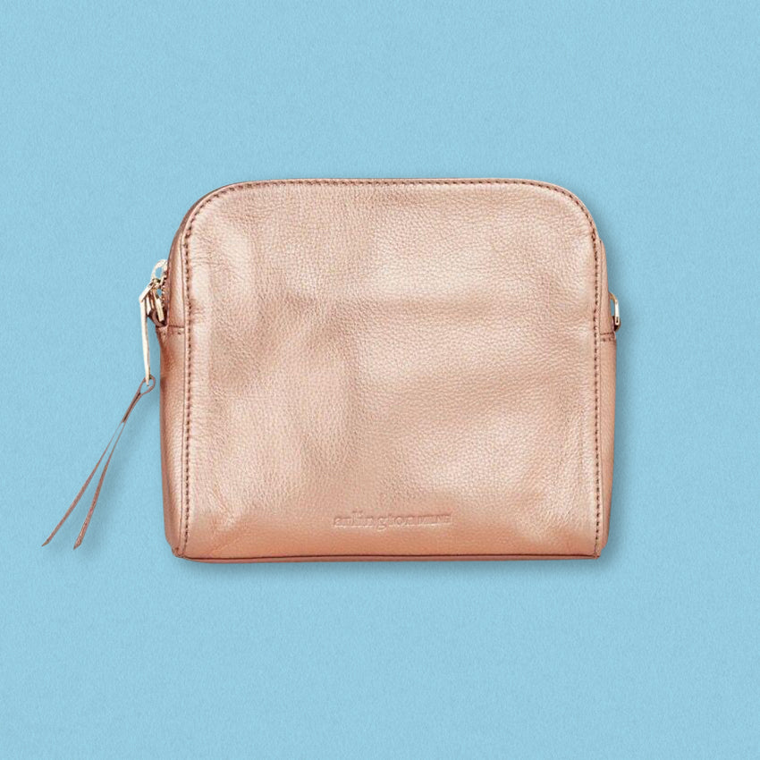 Arlington Milne Erica Crossbody, Rose Gold