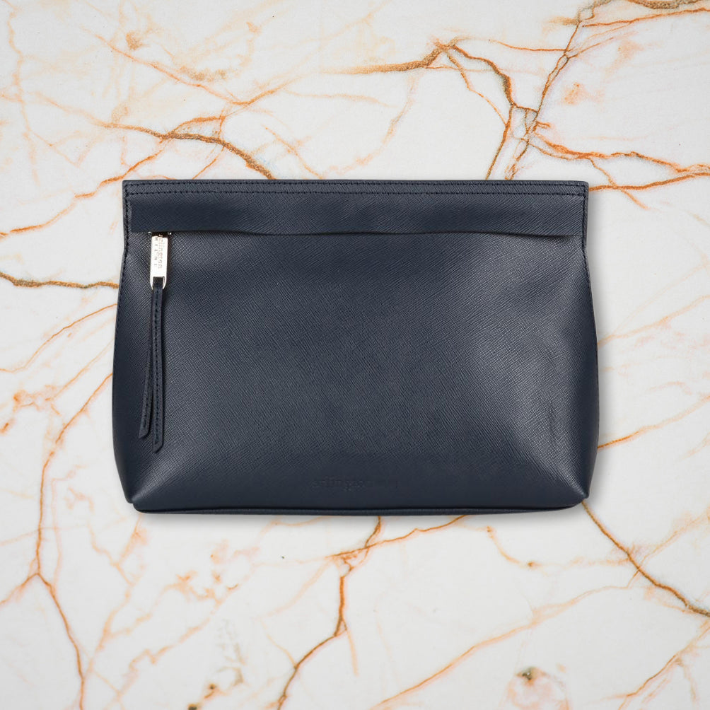Arlington Milne India Clutch, Navy