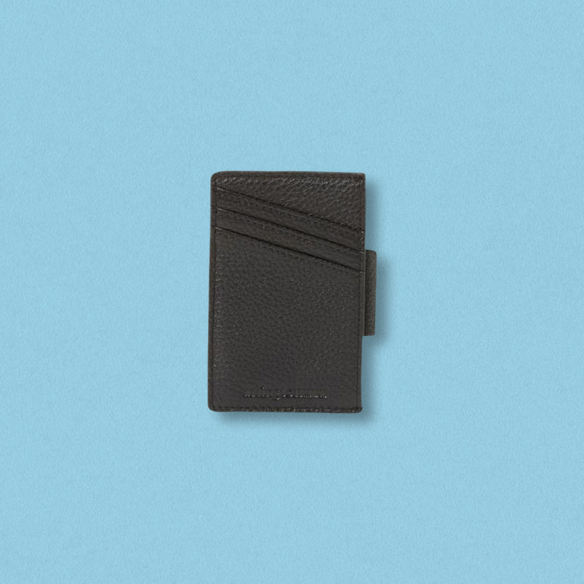 Arlington Milne Johnny Card Holder, Black