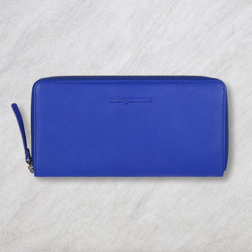 Arlington Milne Large Wallet, Cobalt Blue