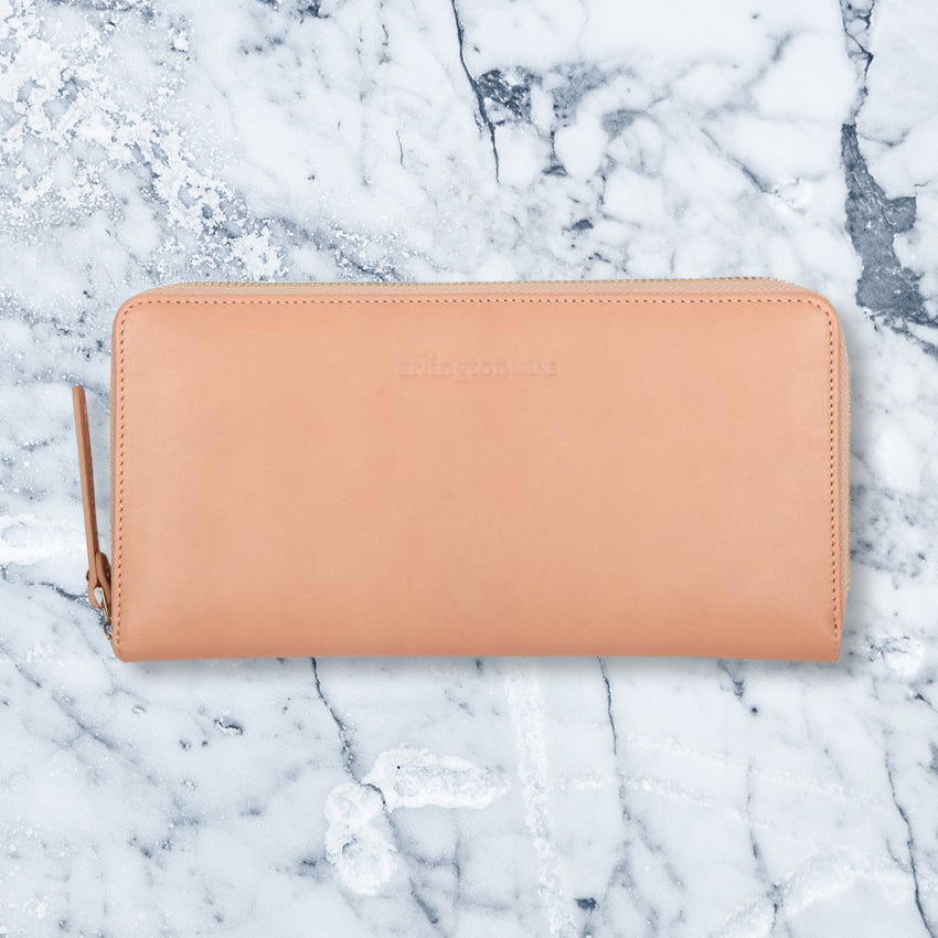 Arlington Milne Large Wallet, Tan