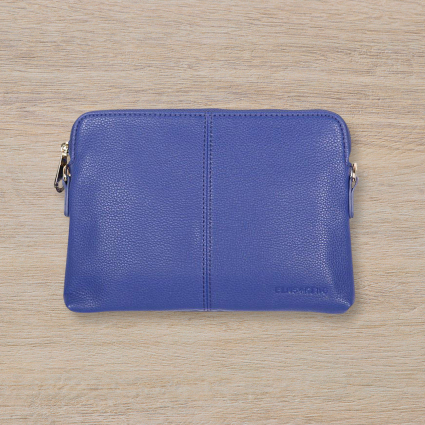 Elms + King Bowery Wallet, Royal Blue