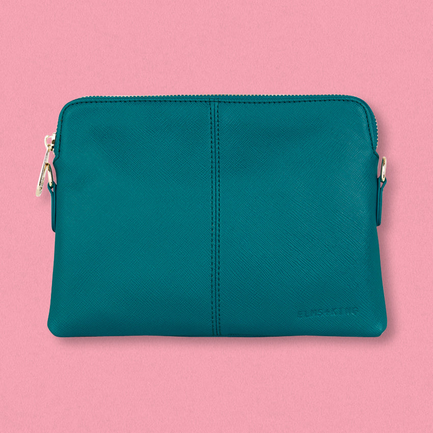 Elms + King Bowery Wallet, Teal