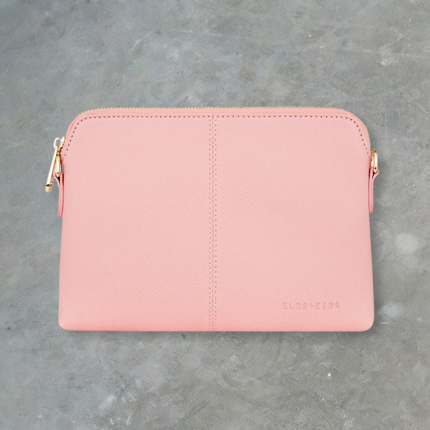 Elms + King Bowery Wallet, Carnation Pink