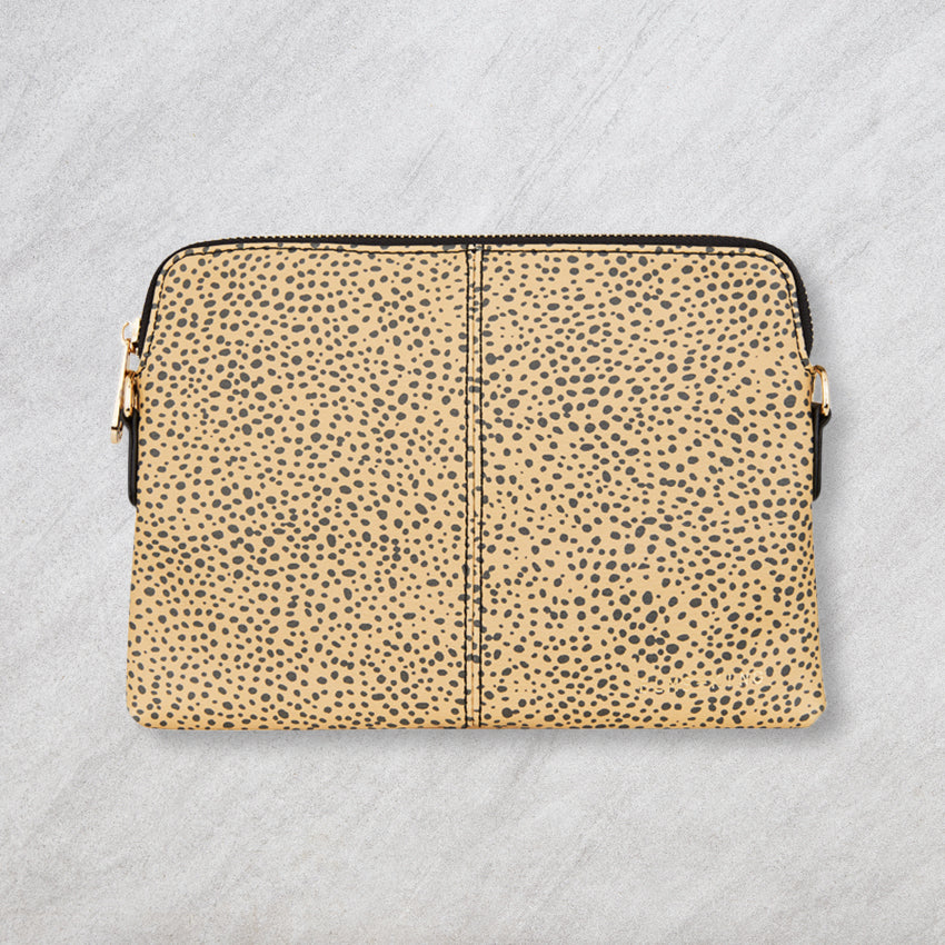 Elms + King Bowery Wallet, Cheetah Print