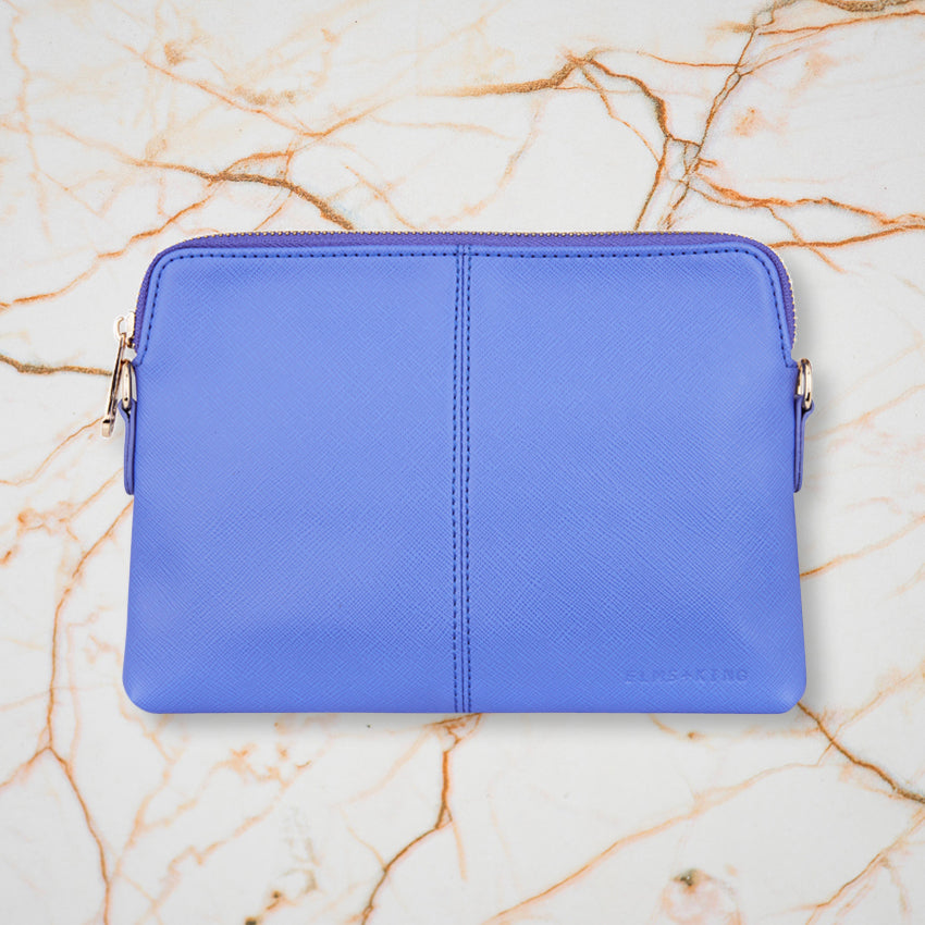 Elms + King Bowery Wallet, Cornflower Blue