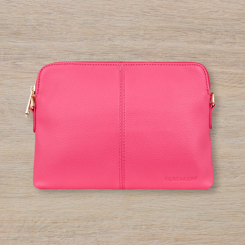 Elms + King Bowery Wallet, Fuschia