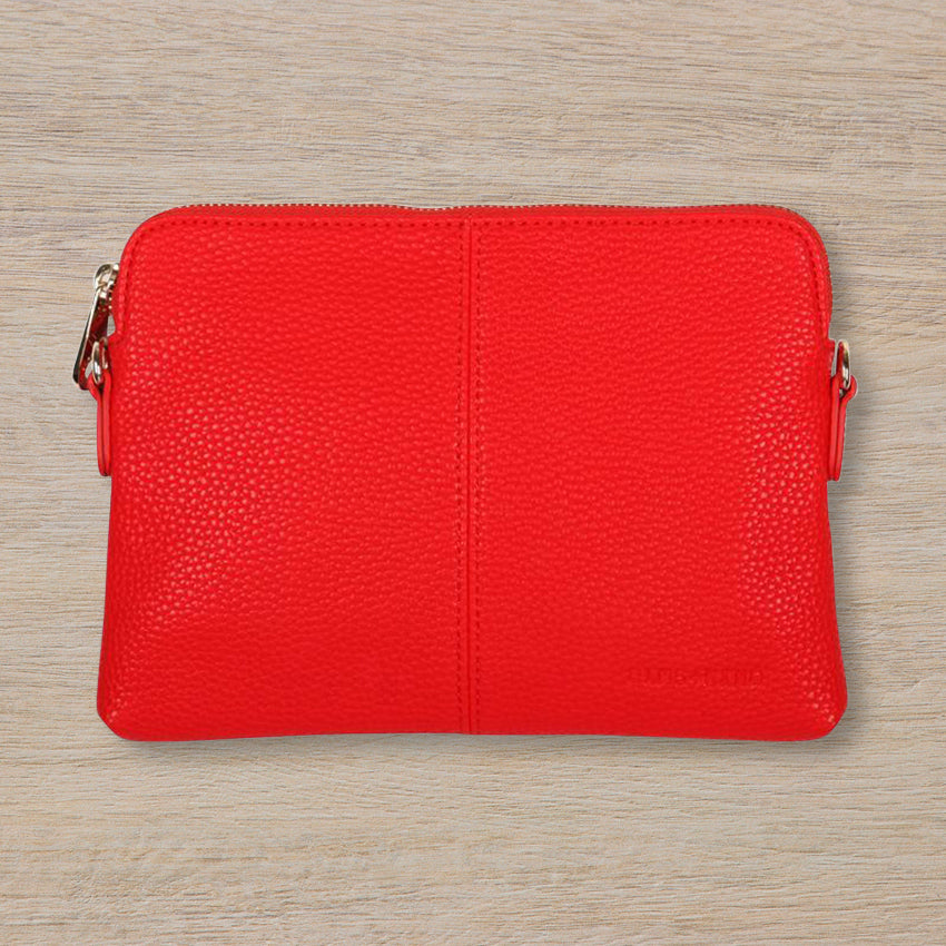 Elms + King Bowery Wallet, Red