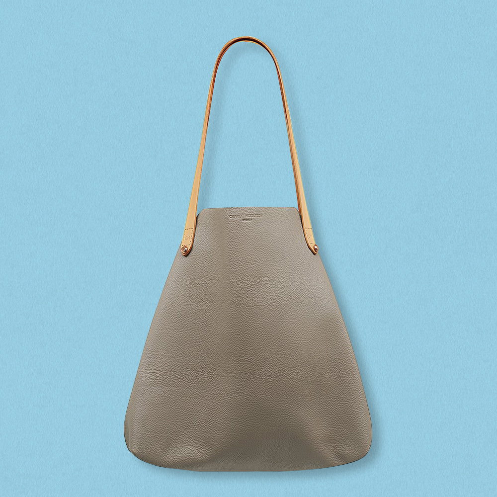 Charlie Middleton Bespoke Tote, Taupe Vogue