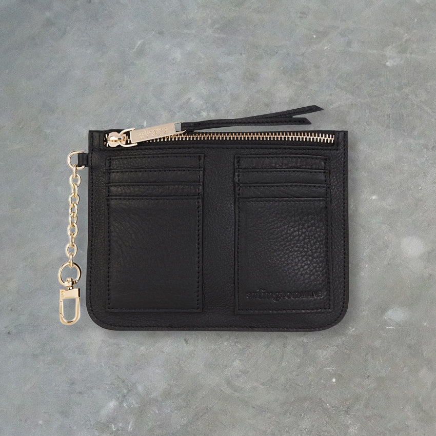 Arlington Milne Coco Coin Purse, Black