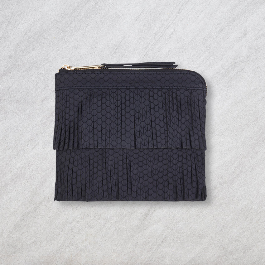 Arlington Milne Daisy Crossbody, Navy Scales