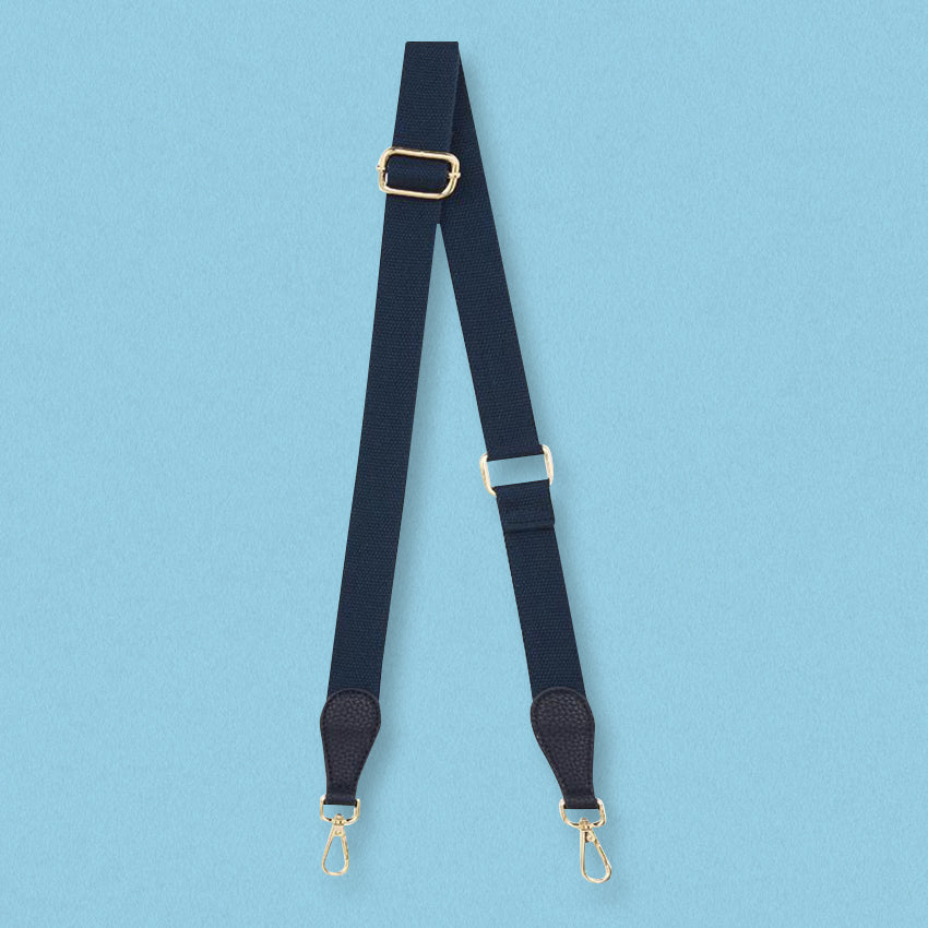 Elms + King Accent Strap, French Navy