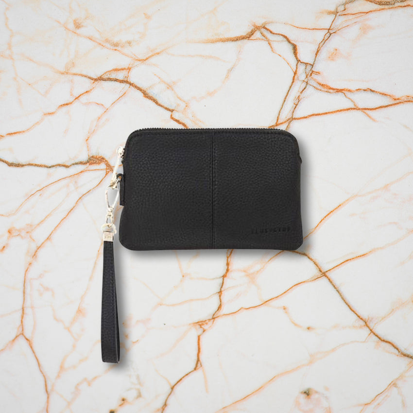 Elms + King Bowery Coin Purse, Black