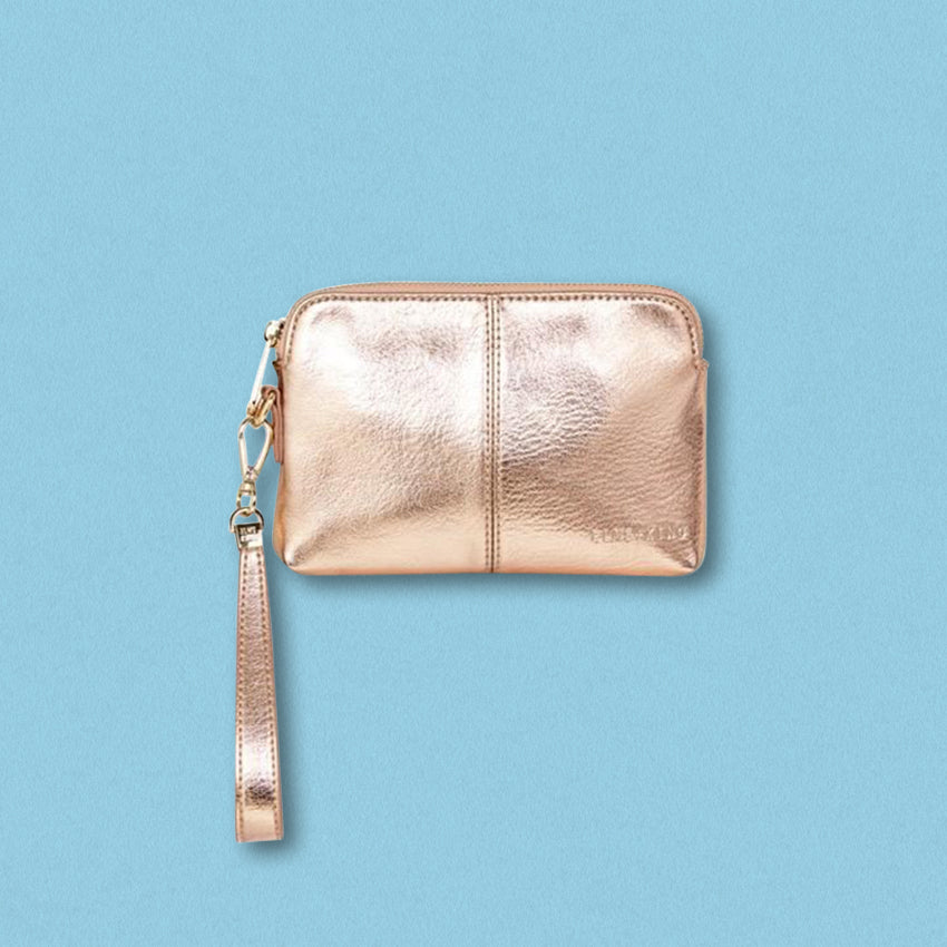 Elms + King Bowery Coin Purse, Rose Gold