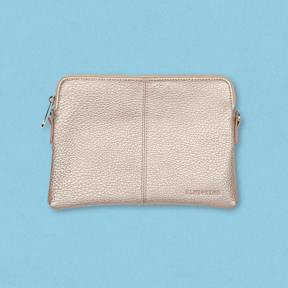 Elms + King Bowery Wallet, Champagne
