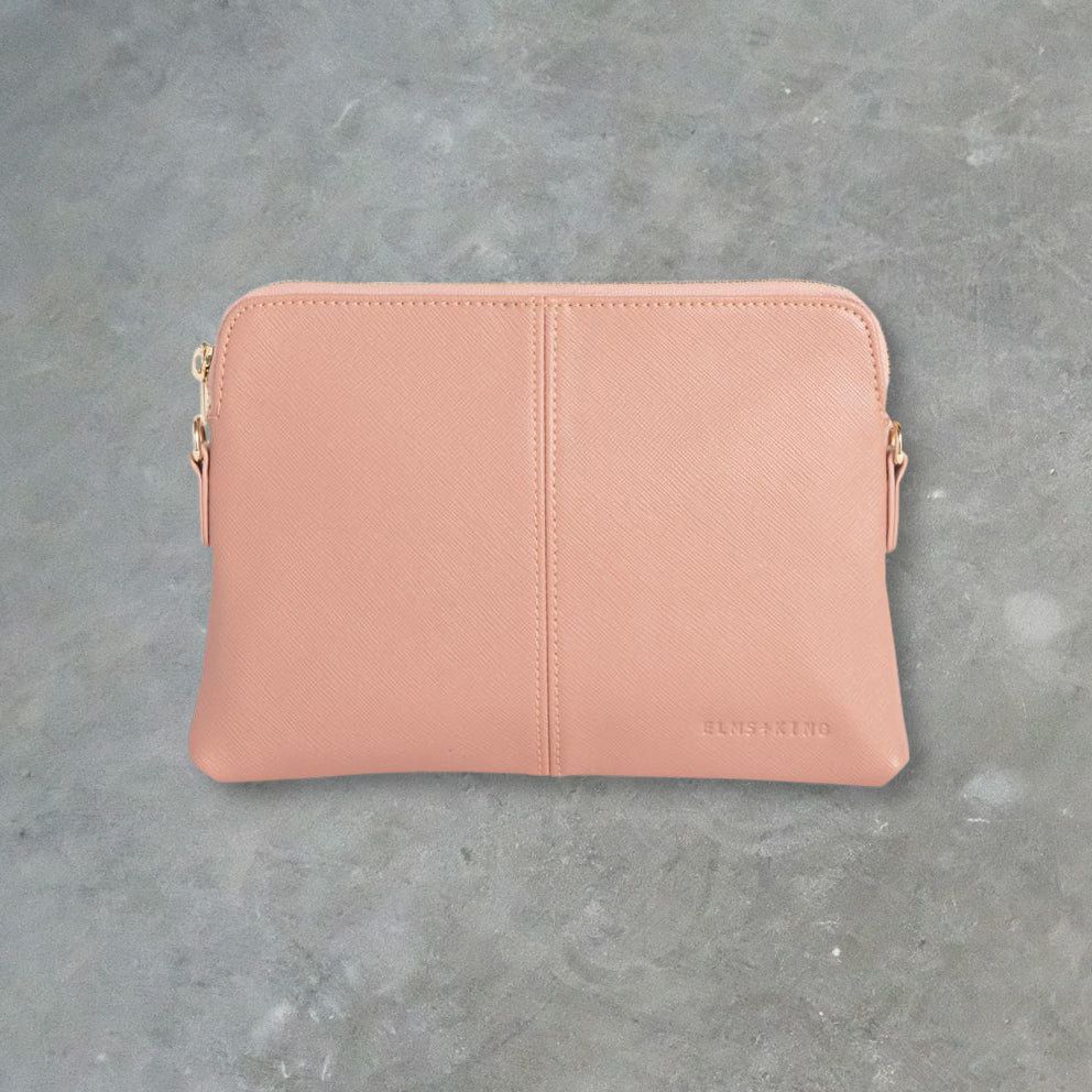 Elms + King Bowery Wallet, Cocoa Rose