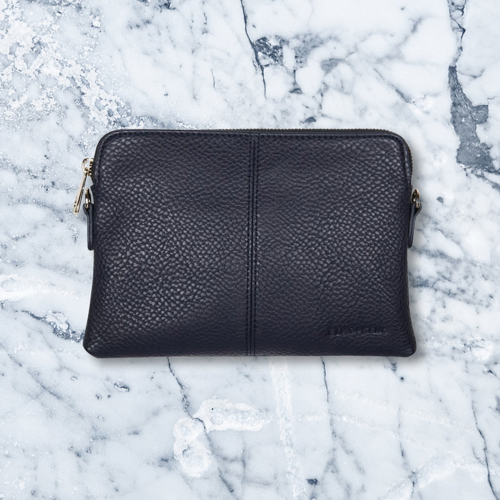 Elms + King Bowery Wallet, French Navy