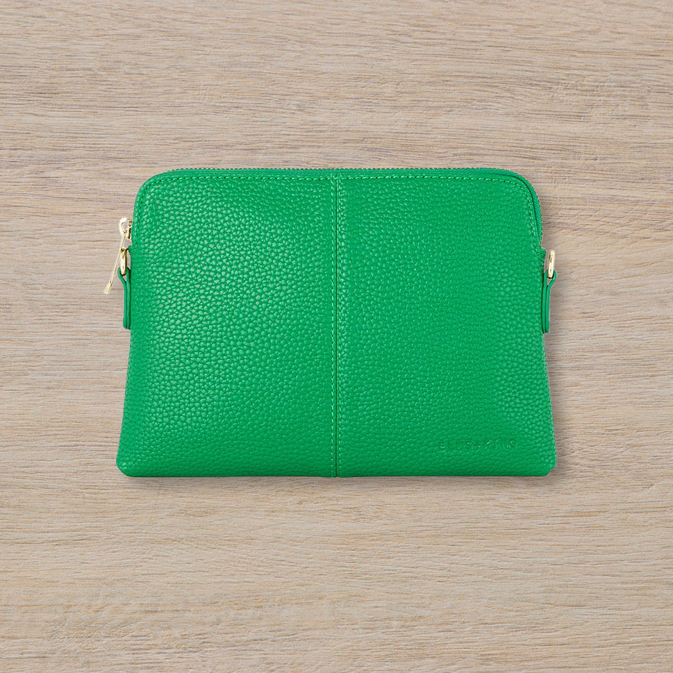 Elms + King Bowery Wallet, Green