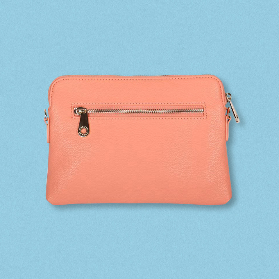 Elms + King Bowery Wallet, Salmon