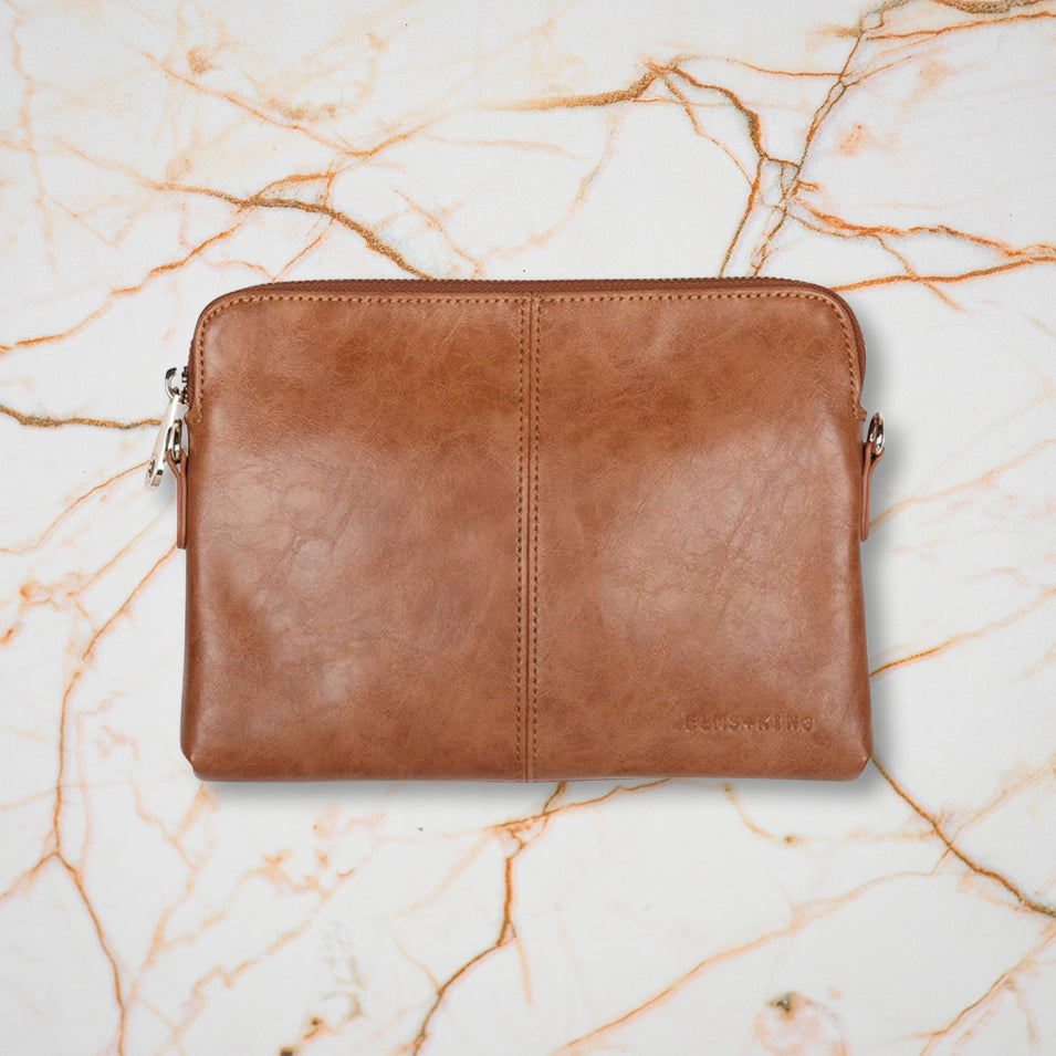 Elms + King Bowery Wallet, Tan