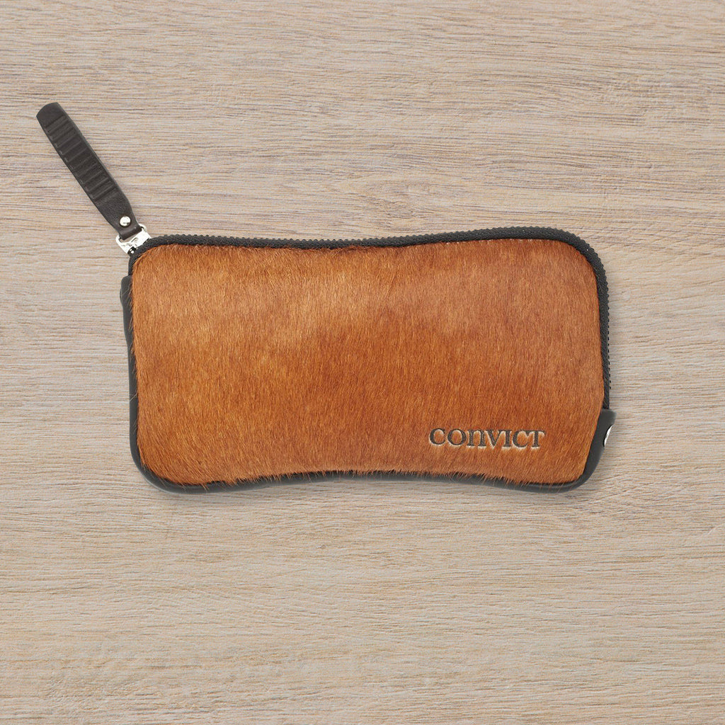 Convict Esther Wallet, Brown Cowhide