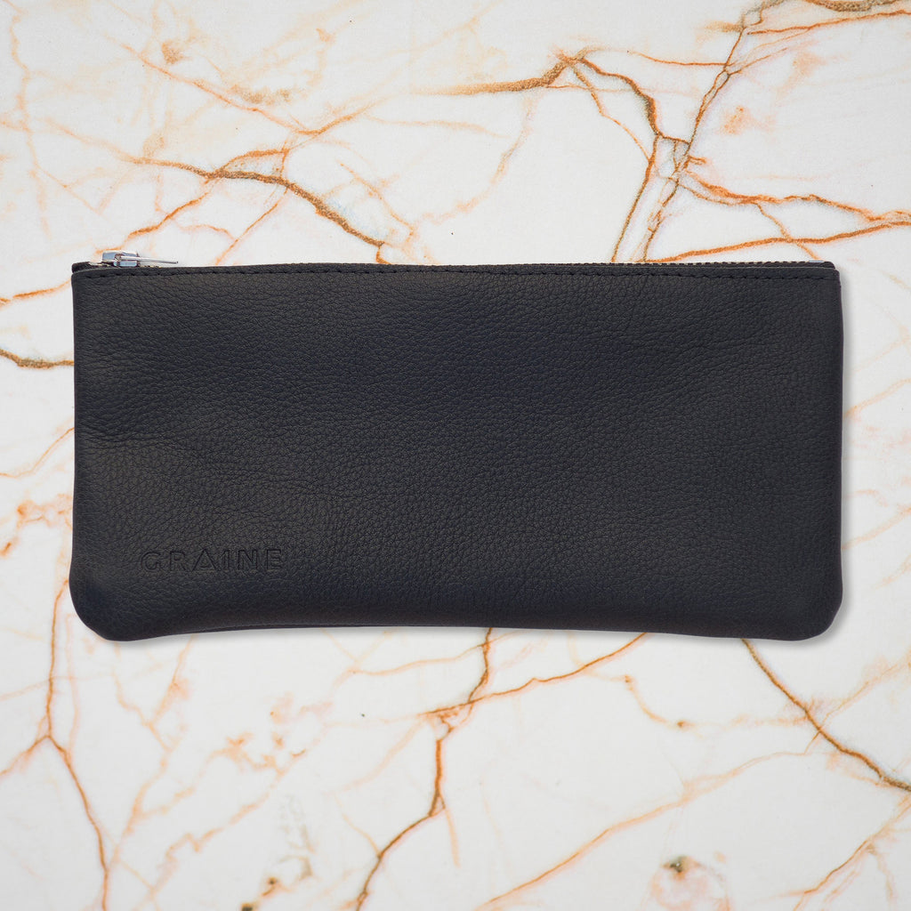 Graine Windsor Wallet, Black