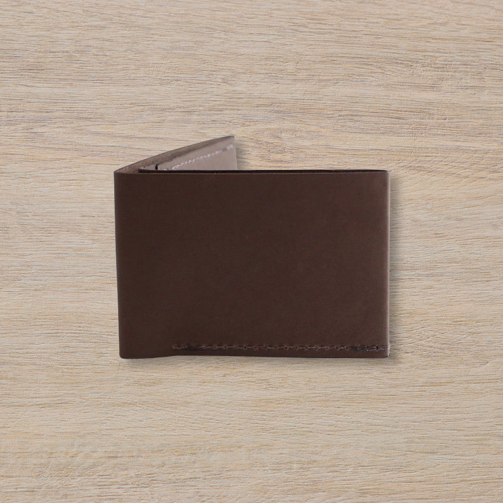 IE Francis Bi-Fold Wallet, Dark Brown