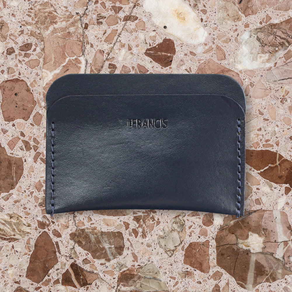 IE Francis Three Pocket Wallet, Navy