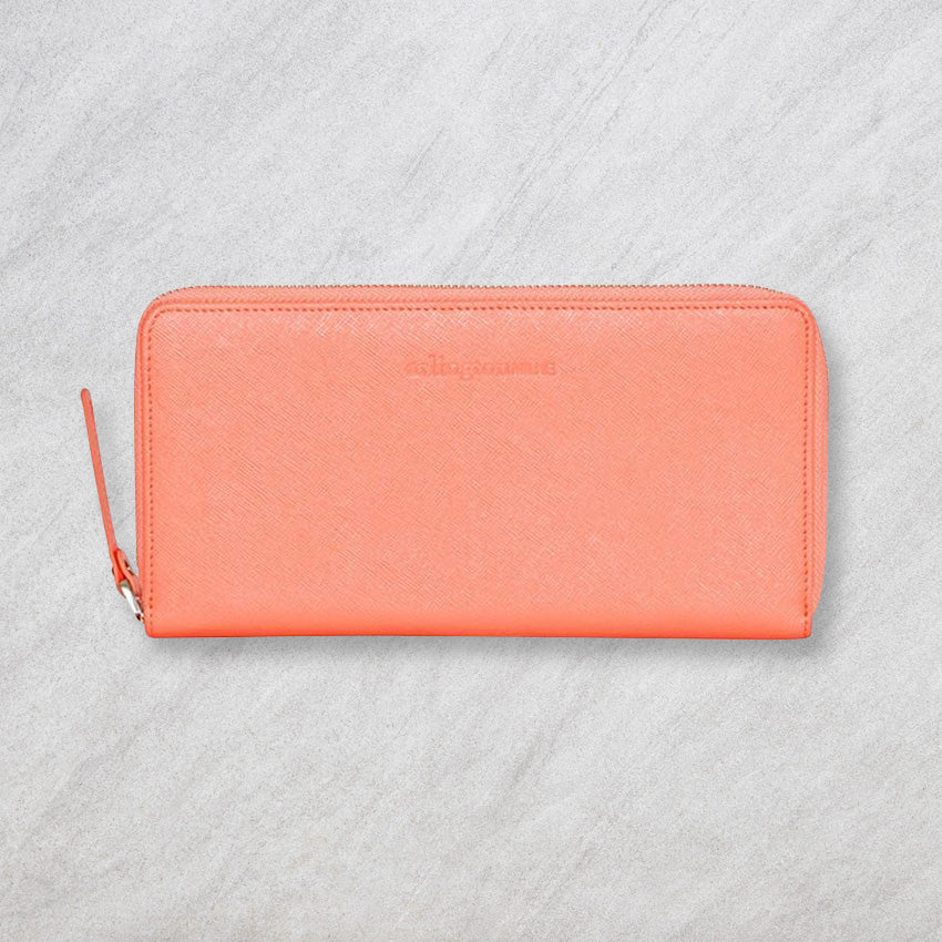 Arlington Milne Large Wallet, Light Peach