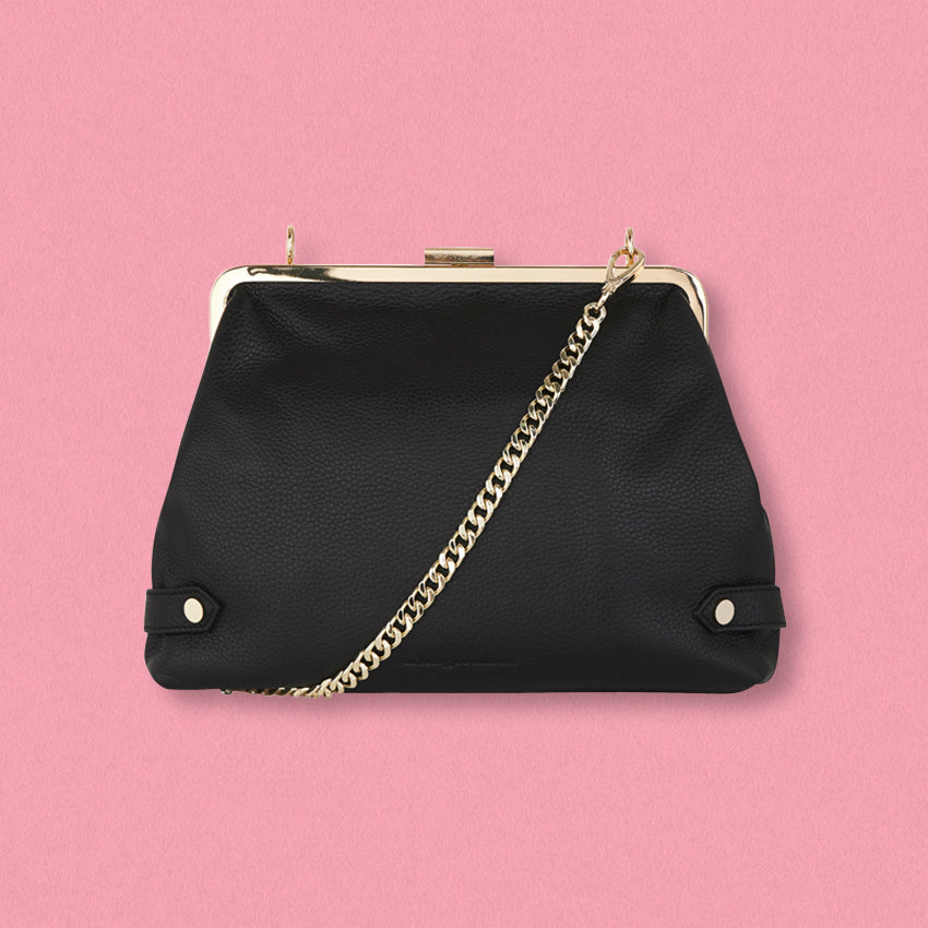 Arlington Milne Lily Clutch, Black
