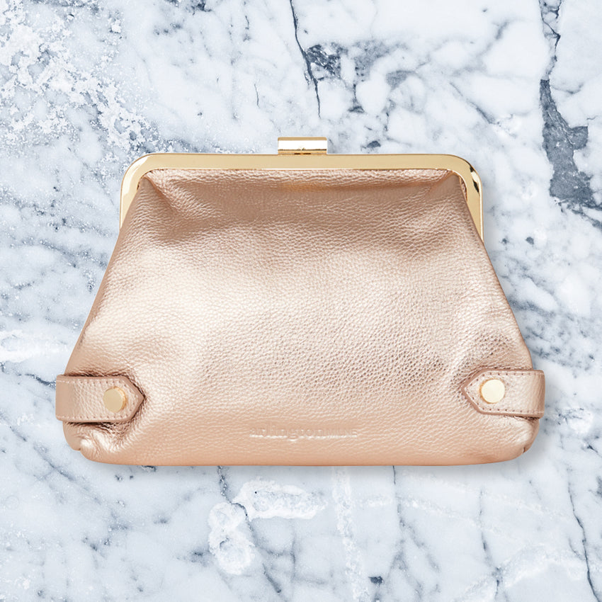 Arlington Milne Lily Purse, Rose Gold