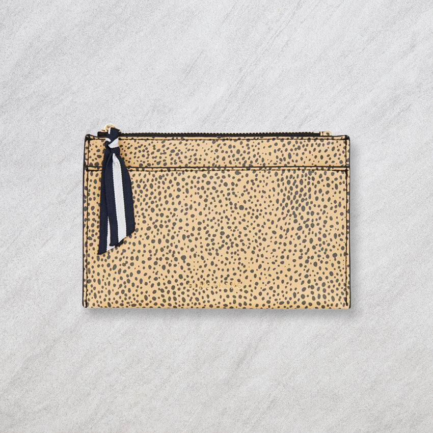 Elms + King New York Coin Purse, Cheetah