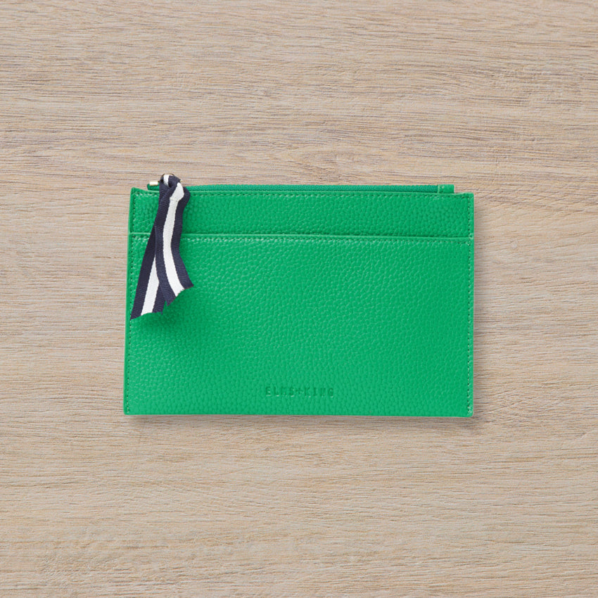 Elms + King New York Coin Purse, Green