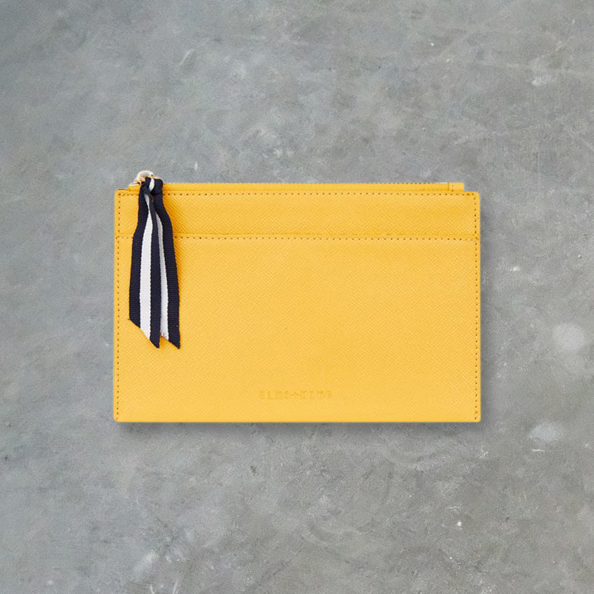 Elms + King New York Coin Purse, Lemon