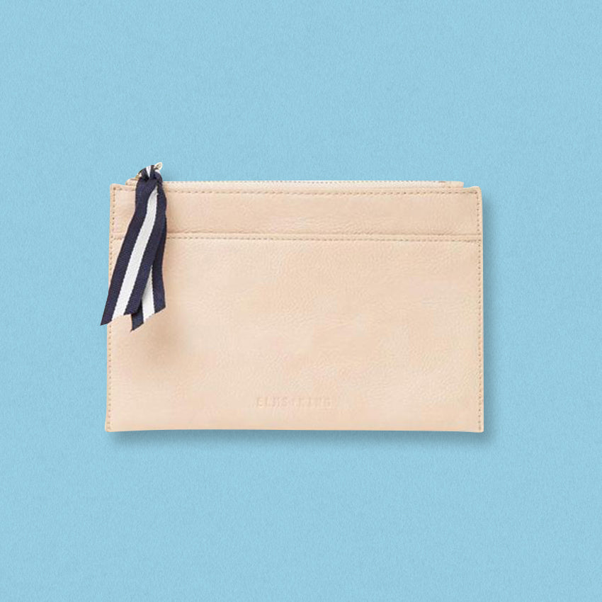 Elms + King New York Coin Purse, Nude