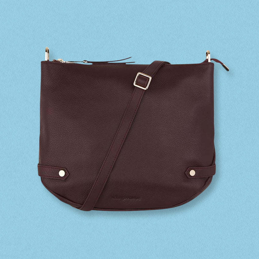Arlington Milne Olivia Shoulder Bag, Pinot