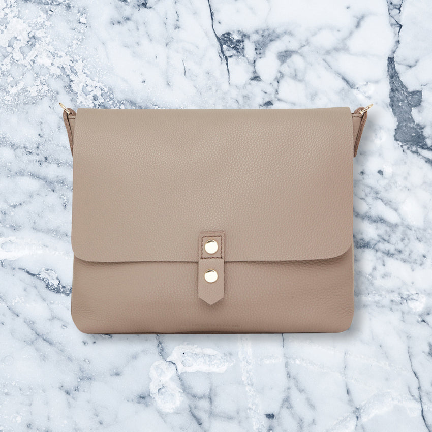 Arlington Milne Paige Crossbody, Putty