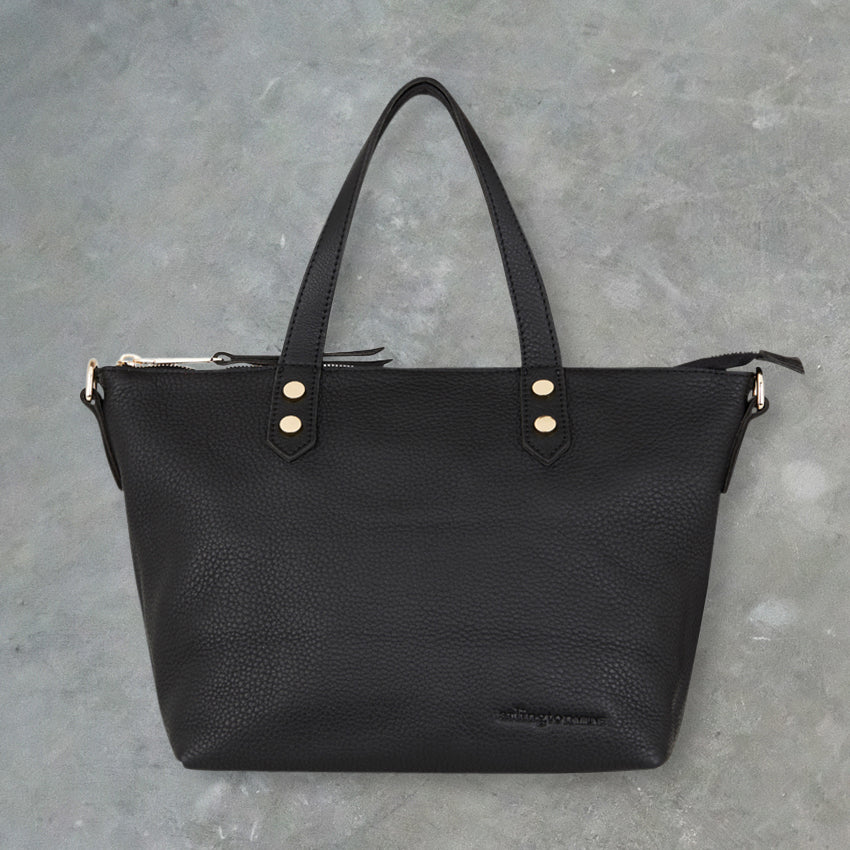 Arlington Milne Paige Soft Tote Small, Black