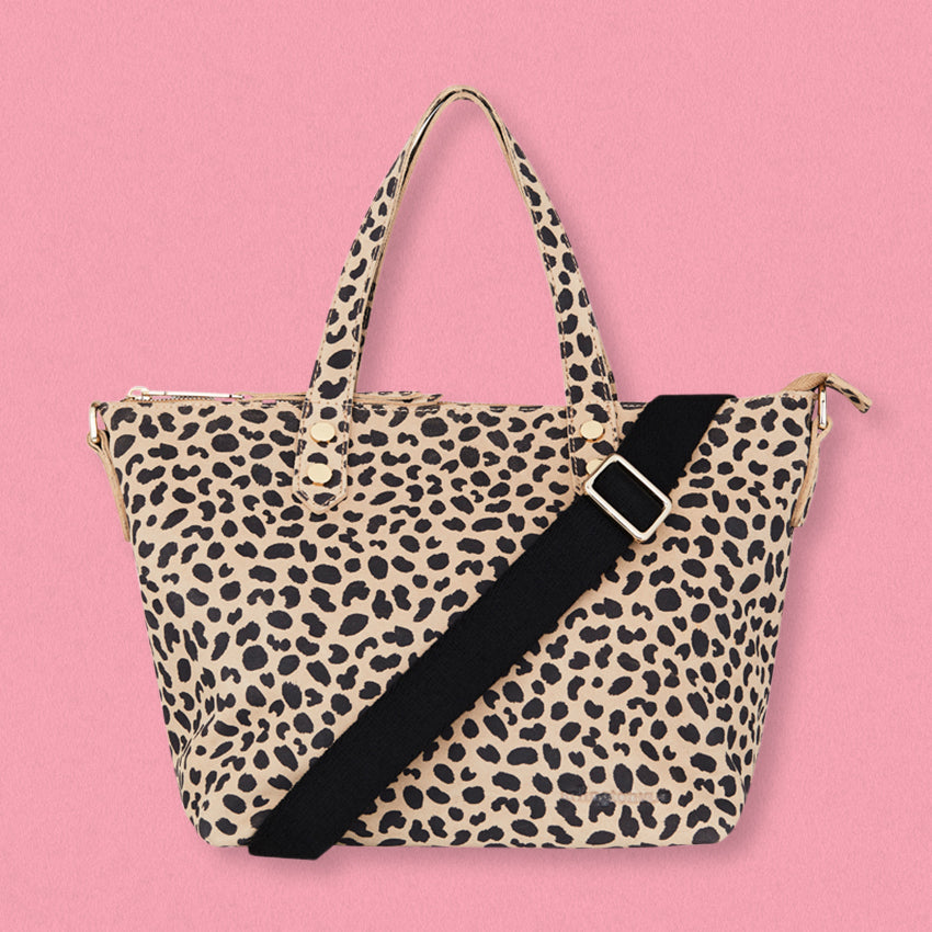 Arlington Milne Paige Soft Tote Small, Spot Suede