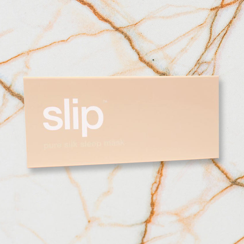 Slip Eye Mask, Caramel