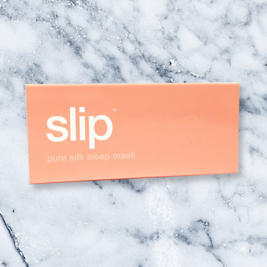 Slip Eye Mask, Peach