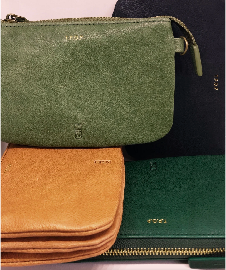 The Pick of Pieces Newquay Wallet, Sage Green