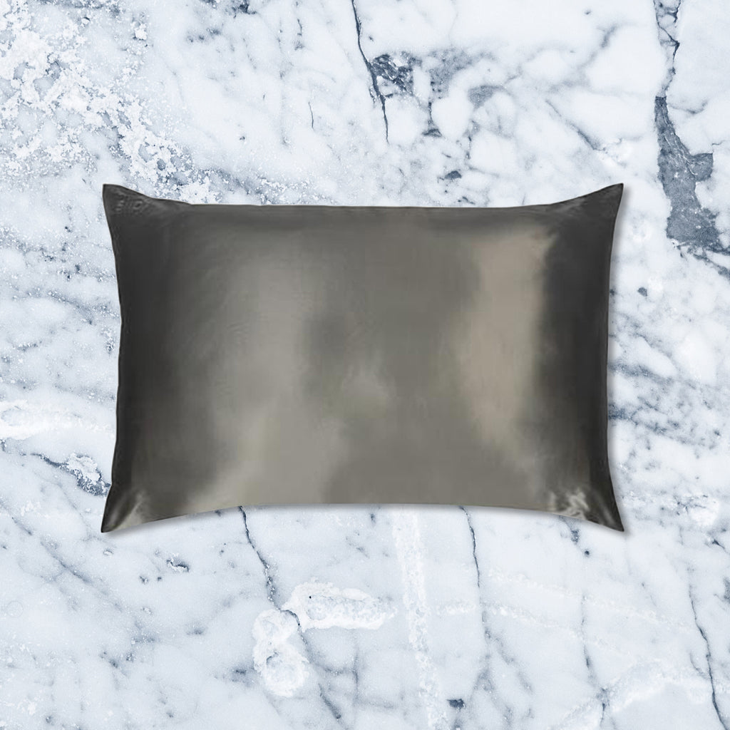 Slip Pillow Case, Charcoal