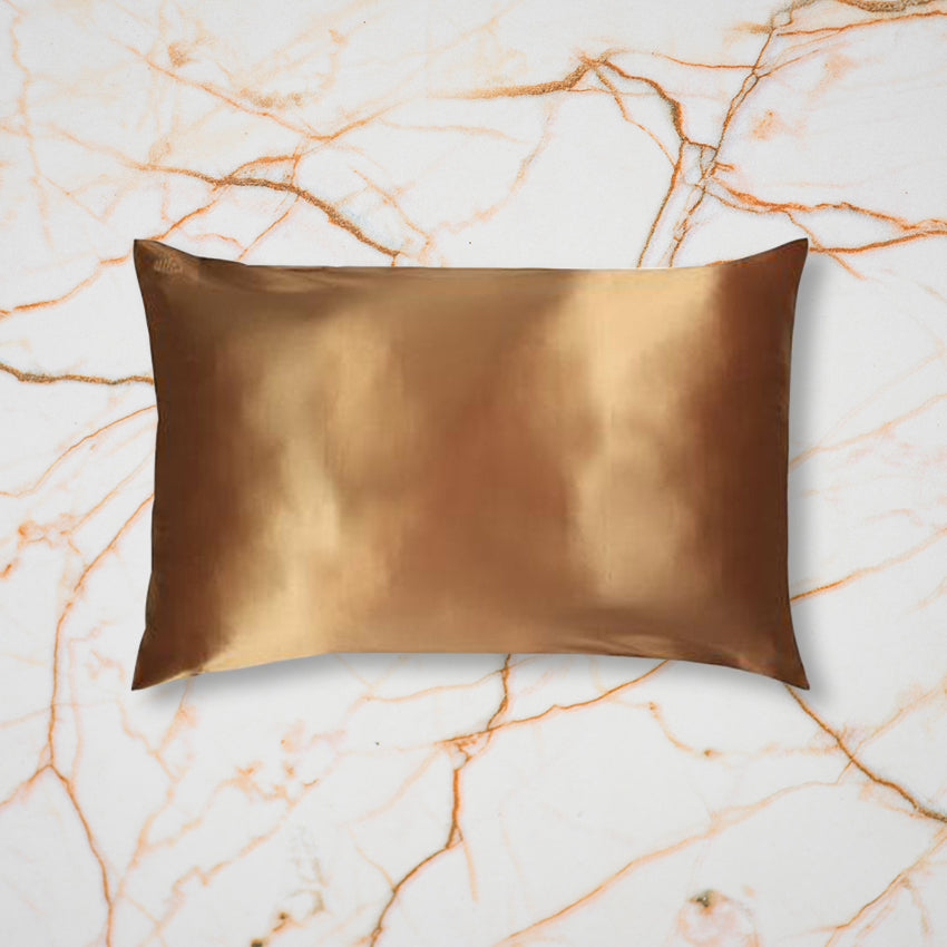 Slip Pillow Case, Gold