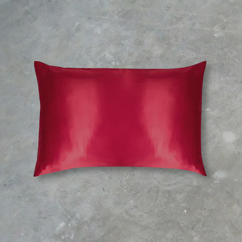 Slip Pillow Case, Red