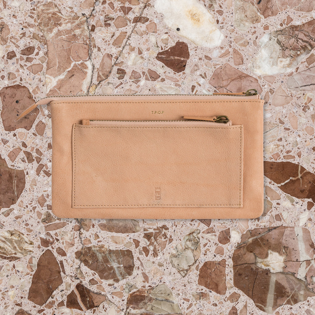 The Pick of Pieces Biarritz Wallet, Natural