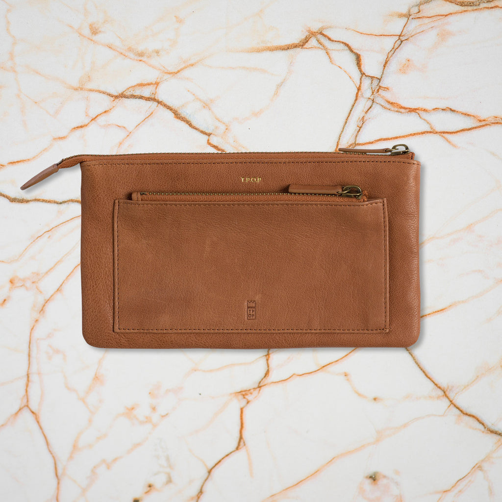The Pick of Pieces Biarritz Wallet, Tan