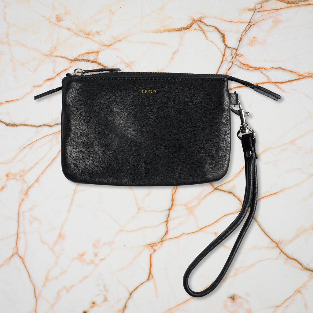 The Pick of Pieces Newquay Wallet, Black