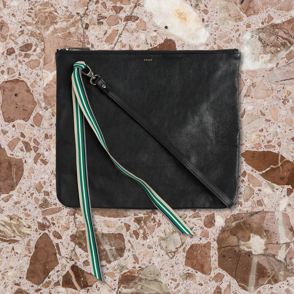 The Pick of Pieces York Clutch Bag, Black
