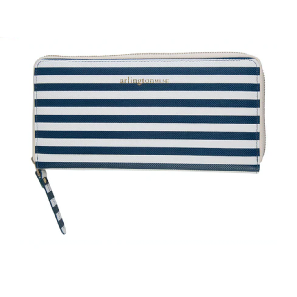 Arlington Milne Large Wallet, Stripe
